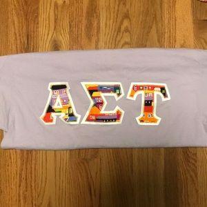 Alpha Sigma Tau letters